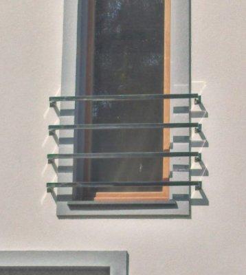 Balustrady zewnętrzne stalowe kwadratowe